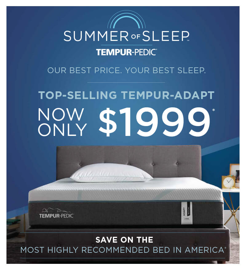 Tempur-Pedic Mid-Summer Savings